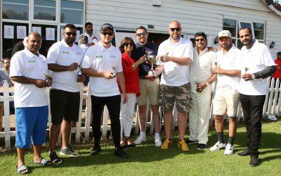 Park Garage Group holds annual cricket day